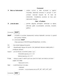Reprezentarea Mediului Grafic în Autocad - Comenzi de Desenare - Pagina 2