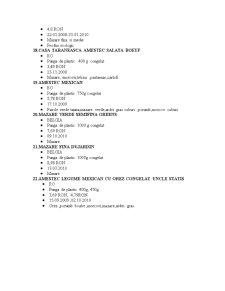 Studiu privind Legumele și Fructele - Pagina 5