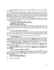 Programele de Aplicație Microsoft Office - Pagina 4