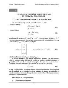 Urmarirea Estimarii si Identificarii in Comanda Proceselor - Pagina 1