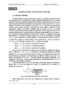 Estimatoare Stochastice-Filtre - Pagina 1
