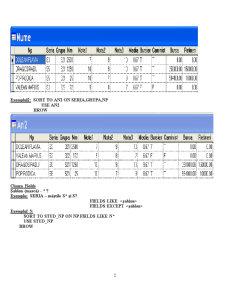Baze de Date și Programare - Visual Fox Pro - Pagina 2