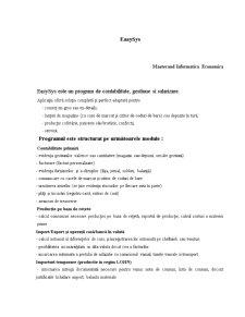 Easysys - Pagina 1