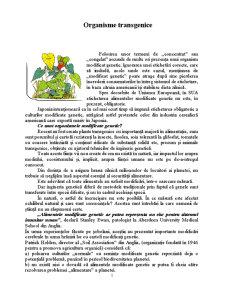 Organisme Transgenice - Pagina 2