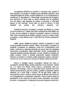Obiectiv si Subiectiv in Cunoastere - Pagina 4