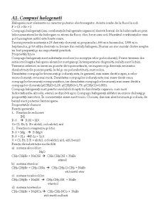 Derivatii Hidrocarburilor - Pagina 2