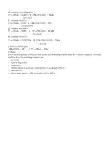 Derivatii Hidrocarburilor - Pagina 3