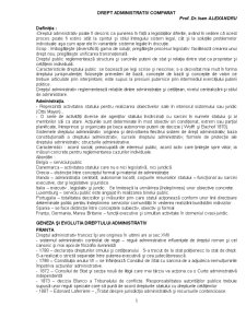 Drept Administrativ Comparat - Pagina 1