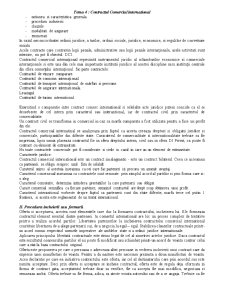 Tema 4 - Contractul Comercial International - Pagina 1