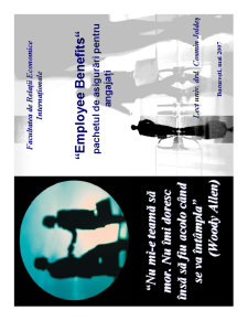 Employee Benefits - Pachetul de Asigurari pentru Angajati - Pagina 1