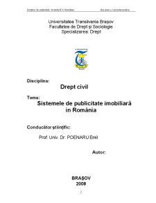 Sistemele de Publicitate Imobiliară în România - Pagina 2