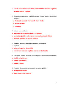 Grile Seminarii - Dreptul Familiei - Pagina 2