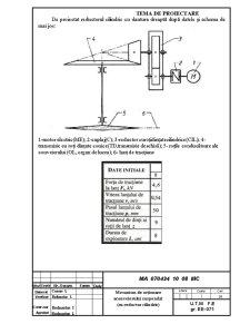 Reductorul Cilindric cu Dantura Dreaptă - Pagina 1