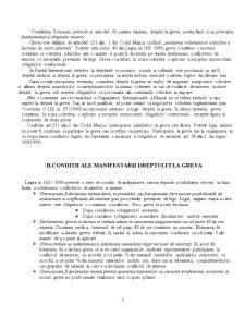 Referat Dreptul Muncii - Greva - Pagina 3