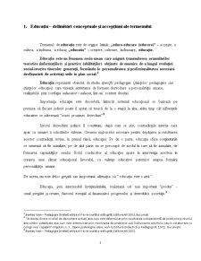Formele si Laturile Educatiei - Pagina 2