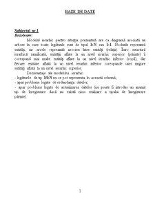 Probleme Baze de Date - Pagina 1