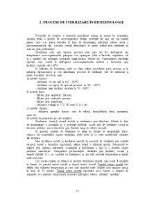 Procese de Sterilizare în Biotehnologie - Pagina 1