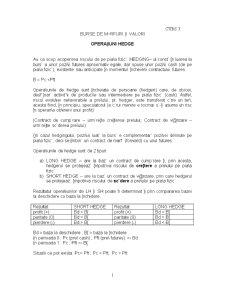 Burse de Marfuri - Pagina 1