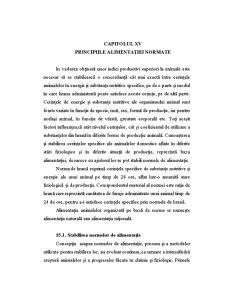 Principiile Alimentației Normate - Pagina 1