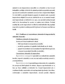 Bazele Ameliorative ale Potrivirii Perechilor la Animalele Domestice - Pagina 2