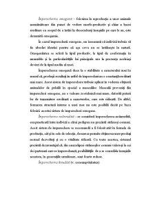 Bazele Ameliorative ale Potrivirii Perechilor la Animalele Domestice - Pagina 4