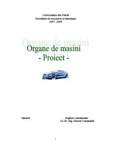 Organe de Masini - Pagina 1