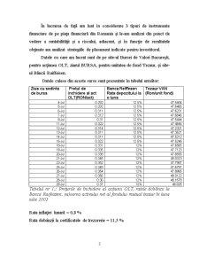 Strategii de Plasament pe Piețele Financiare - Pagina 3
