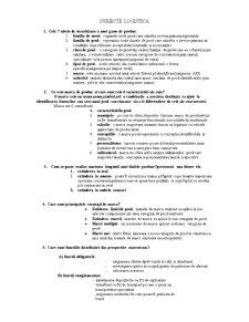Subiecte Logistica - Pagina 1