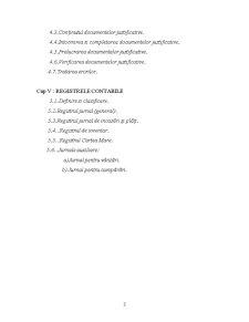Documente Contabile - Notiune, Importanta, Clasificare - Pagina 4
