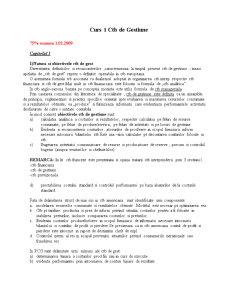 Contabilitate de Gestiune Aprofundata - Pagina 1