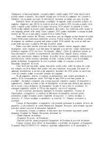 Implicațiile României în Uniunea Europeană asupra Pieței Asigurărilor - Pagina 2