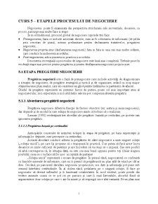 Curs 5 - Etapele Procesului de Negociere - Pagina 1