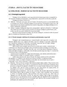 Curs 6 - Jocul Tactic în Negociere - Pagina 1