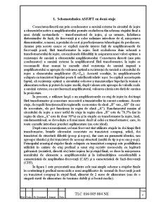 Proiectarea unui Amplificator de Puterea 20W - Pagina 4