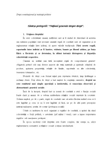 Sinteze Drept Constitutional - Pagina 1
