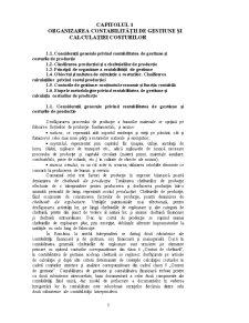 Contabilitatea Circulatiei Costurilor Studiu - Pagina 1