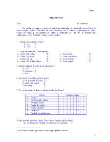 Prezentarea, Analiza si Interpretarea Sondajului Privind Satisfactia Utilizatorilor de Autoturism Marca Dacia - Pagina 4