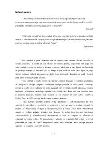 Ipoteza Pietelor Eficiente si Evaluarea Actiunilor - Pagina 3