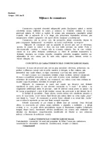 Mijloace de Comunicare - Pagina 1