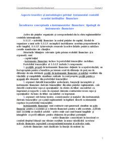 Aspecte Teoretice si Metodologice privind Tratamentul Contabil Acordat Institutiilor Financiare - Pagina 1