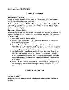 Procedura Civila - Pagina 1