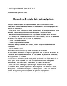 Drept International Privat - Pagina 2