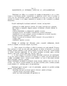 Marketingul și Sistemele Agricole și Agroalimentare - Pagina 1
