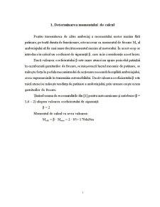 Calculul Ambreiajelor Mecanice - Pagina 1