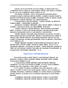 Contabilitatea Intermediarilor Financiari - Cursul 4 - Pagina 4