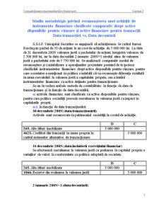Contabilitatea Intermediarilor Financiari - Cursul 5 - Pagina 1