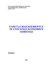 Caiet Managementul Exploatilor Agricole - Pagina 1
