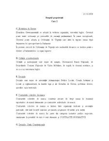 Dreptul Proprietatilor - Curs 2 - Pagina 1