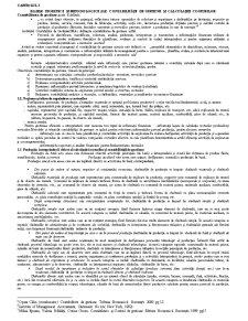 Bazele Teoretice și Metodologice ale Contabilității de Gestiune și Calculației Costurilor - Pagina 1