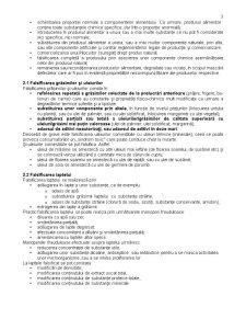 Manoperele Frauduloase Comise asupra Marfurilor Alimentare - Directii de Identificare si Prevenire - Pagina 3